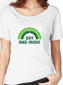 Character Building - Irish and Gay Women's Relaxed Fit T-Shirt