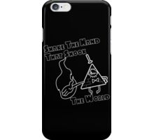 The Hand That Shook The World iPhone Case/Skin