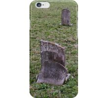 """'""""THE CEMETERY, a Series', No. 6, Broken Stone""""... prints and products iPhone Case/Skin"""