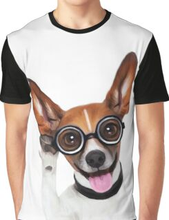 Dog Wearing Glasses 1 Graphic T-Shirt