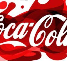 coca cola, coca, cola, cocacola Sticker