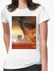 Run among the Fury Road Womens Fitted T-Shirt