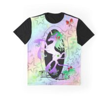 Cybercorn - Unicorn Cybergoth Graphic T-Shirt