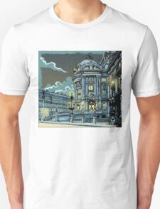 Opéra de Paris at Night Unisex T-Shirt