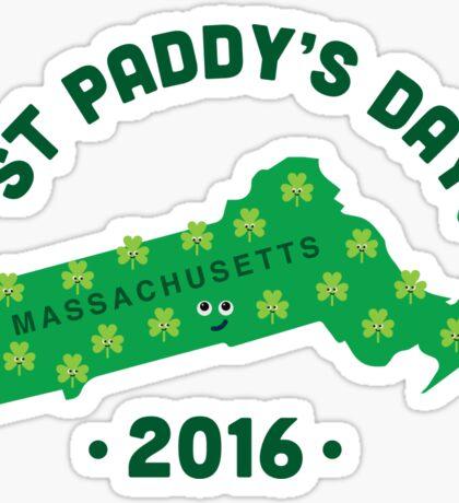 Character Building - Massachusetts State Sticker