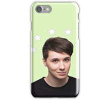 Dan Howell Star Halo - Green iPhone Case/Skin