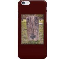 """'""""THE CEMETERY, a Series', No. 8, A Soldier's Honor""""... prints and products iPhone Case/Skin"""