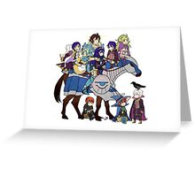 Fire Emblem Awakening - Frederick's Daycare Service Greeting Card