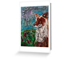 Trickster Tail Greeting Card