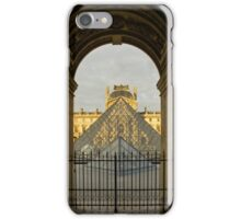 Waiting for the Louvre to Open iPhone Case/Skin
