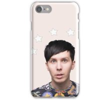 Phil Lester Star Halo - Baby Pink iPhone Case/Skin