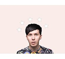 Phil Lester Star Halo - Baby Pink Photographic Print