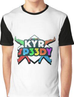 KYR Sp33dy logo Graphic T-Shirt