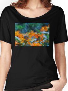 Van Gogh Summer Women's Relaxed Fit T-Shirt