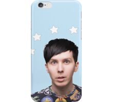 Phil Lester Star Halo - Baby Blue iPhone Case/Skin