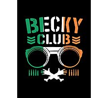 Becky Club Photographic Print