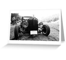 Rat Rod Greeting Card