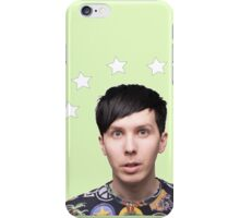 Phil Lester Star Halo - Green iPhone Case/Skin