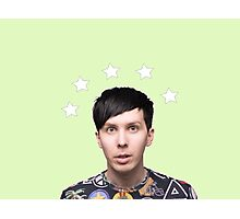 Phil Lester Star Halo - Green Photographic Print
