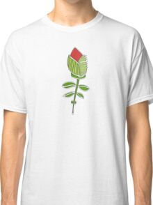wired weed rose pink Classic T-Shirt