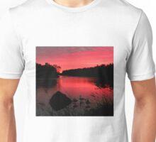 Early Morn on the Assiniboine Unisex T-Shirt