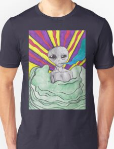 Alien Smoking  T-Shirt