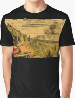 Down the Mountain Graphic T-Shirt