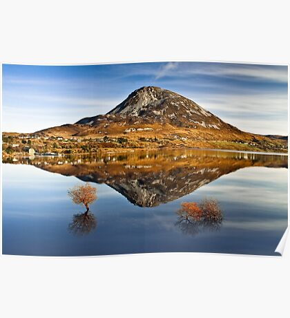 Tranquil Errigal - Ireland Poster