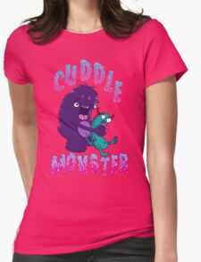 Cuddle Monster Womens Fitted T-Shirt