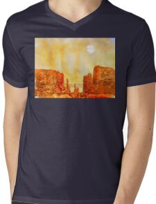 sedona arizona - USA Mens V-Neck T-Shirt