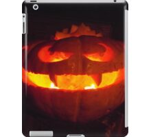 Vampire pumpkin iPad Case/Skin