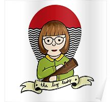 The Log Lady Poster