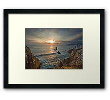 Achill Island Sunset Framed Print