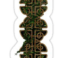 Intertwined Celtic Knots Sticker
