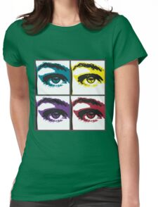 Graphic Eye Womens Fitted T-Shirt