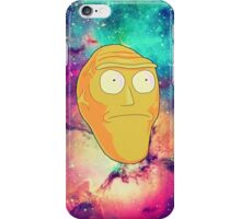 Morty Moon. iPhone Case/Skin