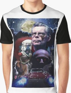 Stephen King- best sellers Graphic T-Shirt