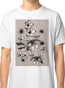 Dusty flowers Classic T-Shirt