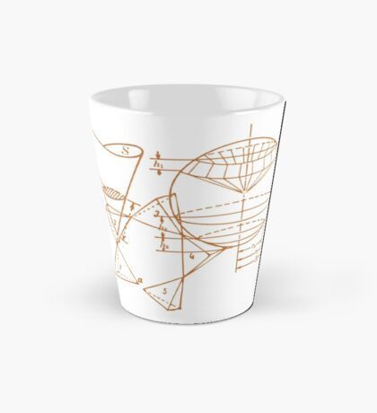 Vintage Math Diagrams - sepia Mug