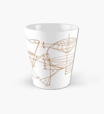 Vintage Math Diagrams - sepia Mug