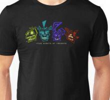 FNAF HEADS [ lights off ] Unisex T-Shirt