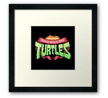 turtles teenage mutant ninja Framed Print