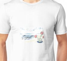 Scented Roses in the Sea Breeze  Unisex T-Shirt