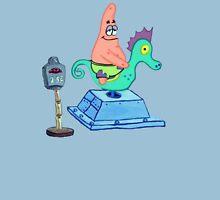 Patrick Riding A Seahorse Unisex T-Shirt