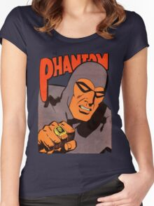 Phantom #10/redesign Women's Fitted Scoop T-Shirt