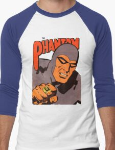 Phantom #10/redesign Men's Baseball ¾ T-Shirt