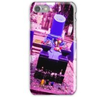 The most sinister cemetery grave. iPhone Case/Skin