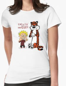 Calvin and Hobbes Fun Womens Fitted T-Shirt