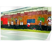 Graffiti under the bridge (El Chavo Del 8). Poster