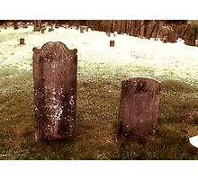 "'""THE CEMETERY, a Series', No. 9, Together Forever""... prints and products Photographic Print"